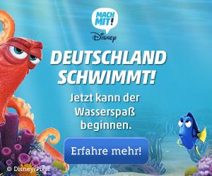 Deutschland schwimmt